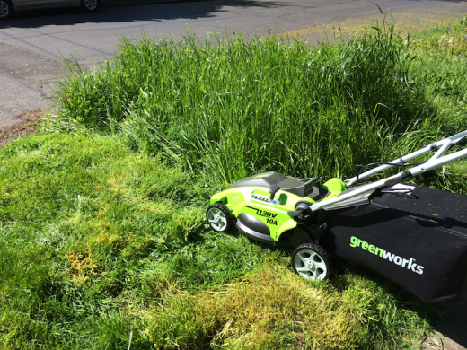 The best lawn mower defeating it's greatest challenger to date.